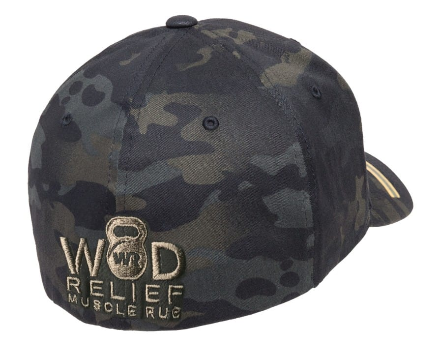FlexFit Multicam Black Camo Hat – WOD Relief 58046721b1c